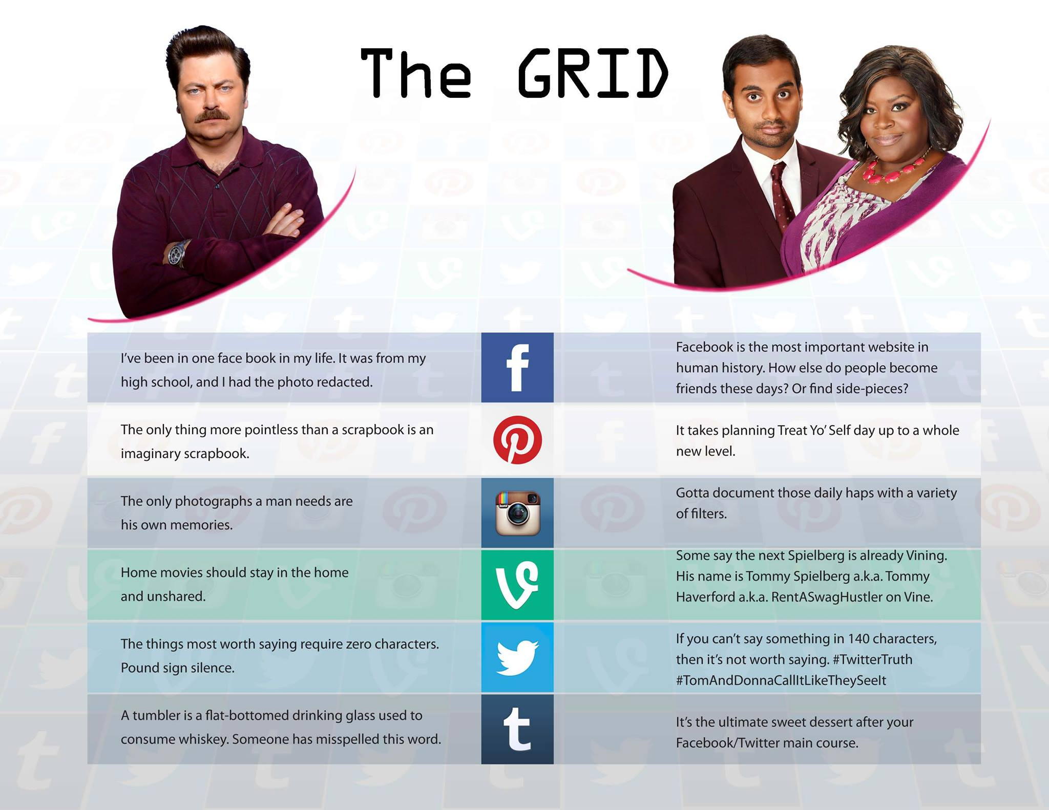 Parks and Recreation - 06x03 Grid