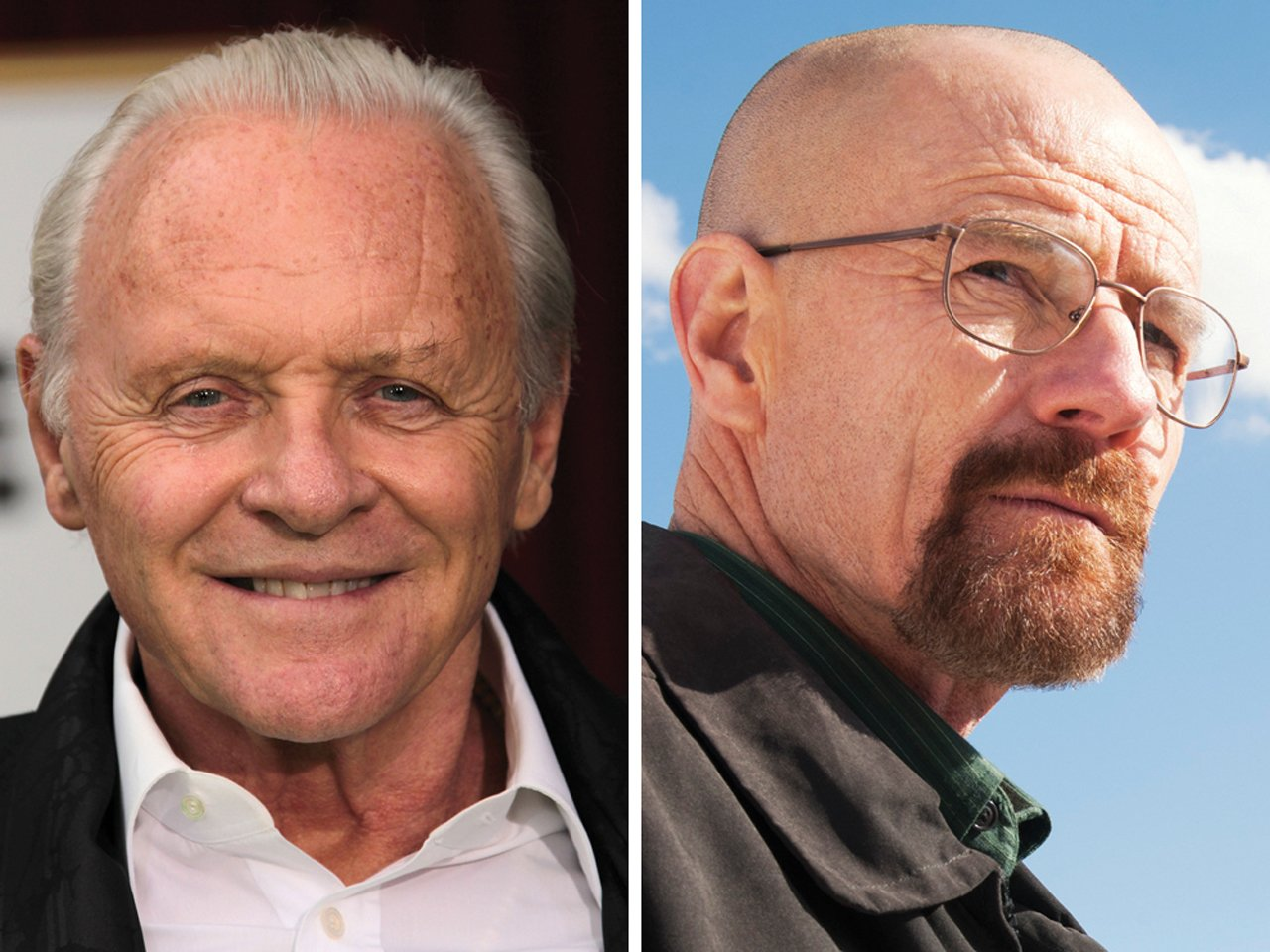 Image: Anthony Hopkins, Bryan Cranston