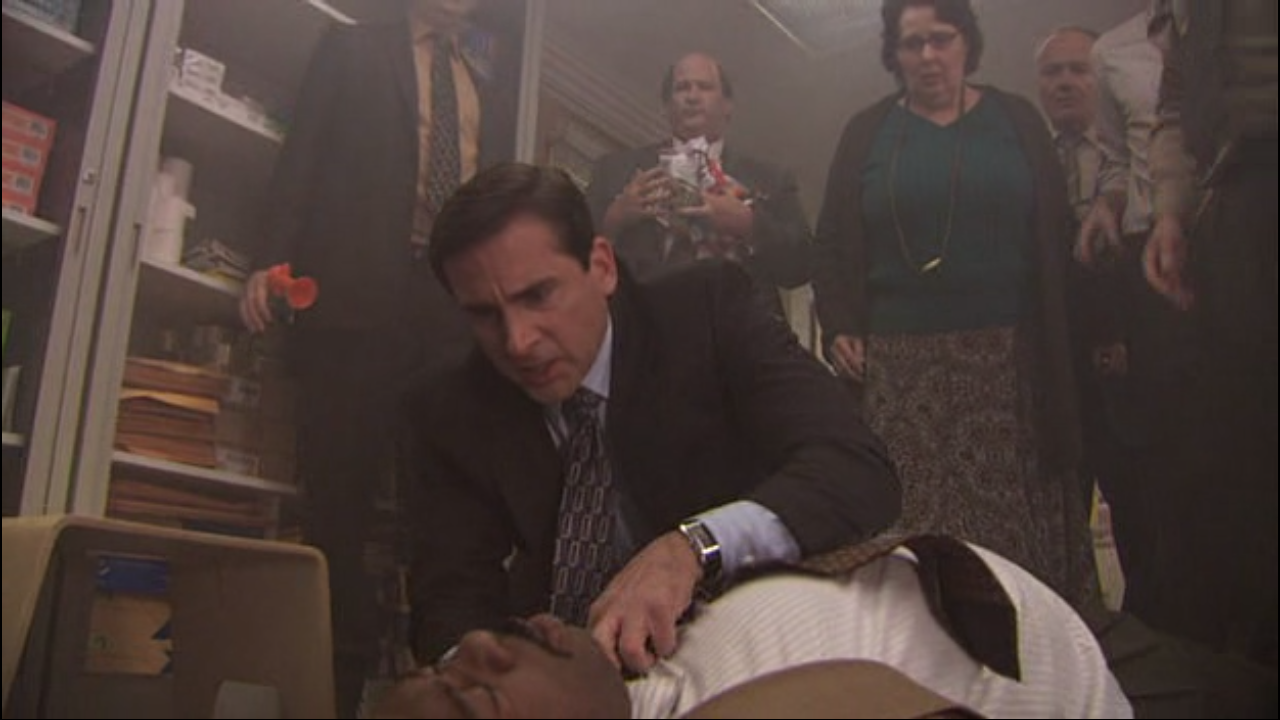 The Office - 05x14-15 - Stress Relief