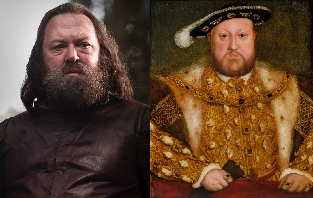 Robert Baratheon Henry VIII