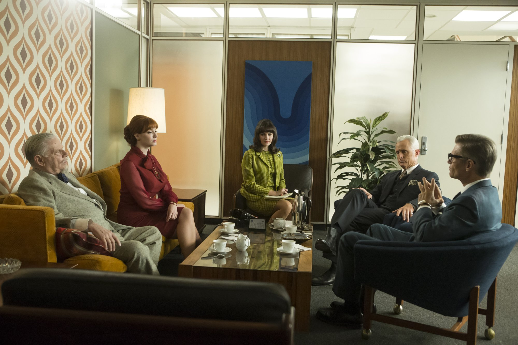 Mad Men 07x02 - A Day's Work 01