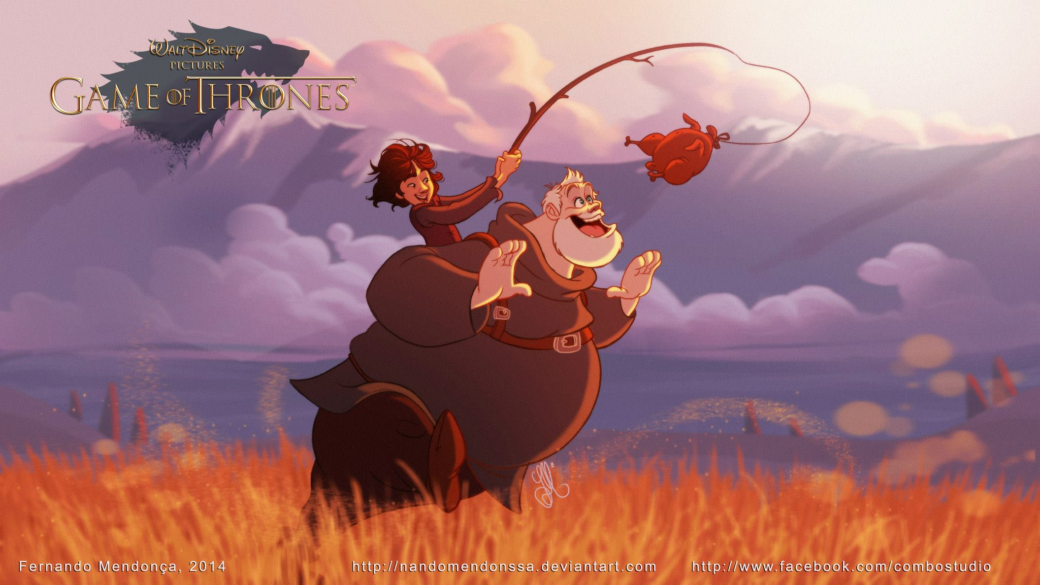 Disney Game Of Thrones Bran Stark & Hodor