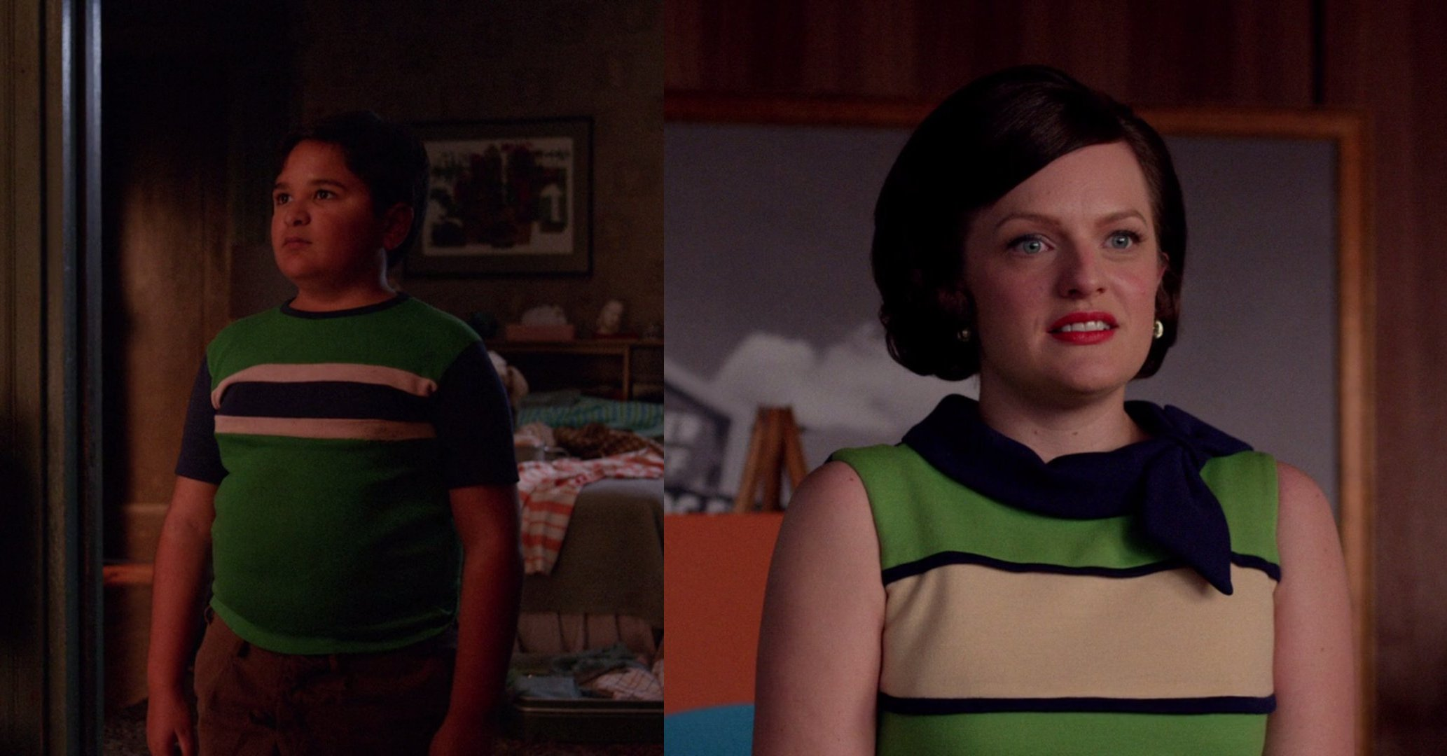 Mad Men - 07x07 - Waterloo Julio Peggy