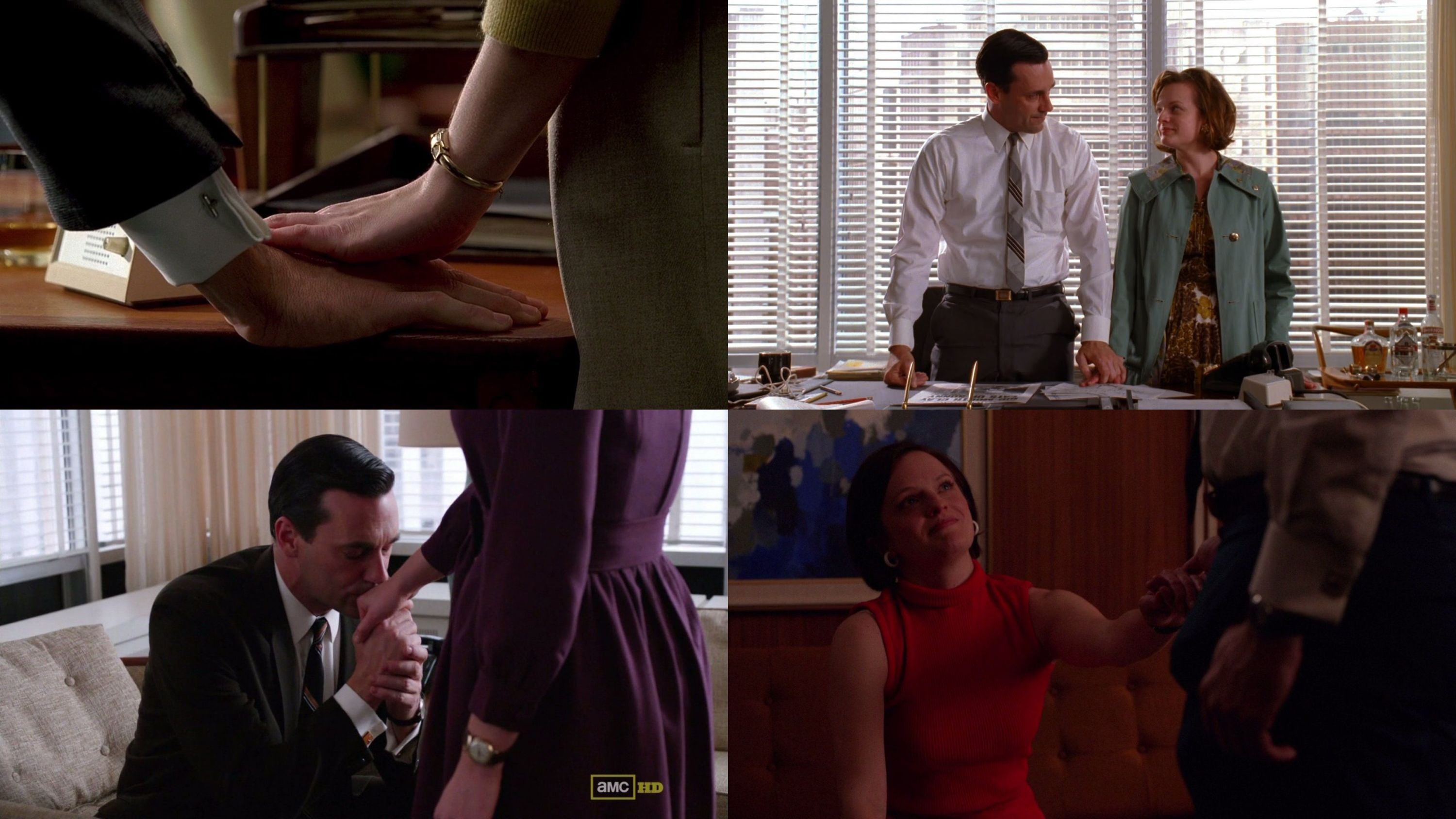 Mad Men Hands
