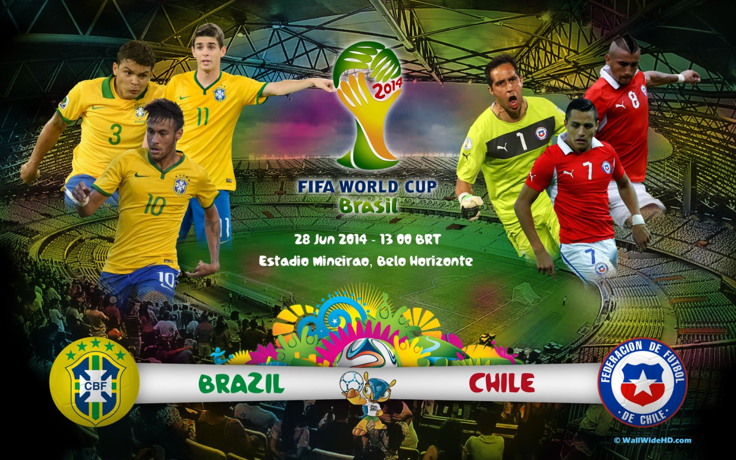 Brazil-vs-Chile-World-Cup-2014-Round-Of-16-Football