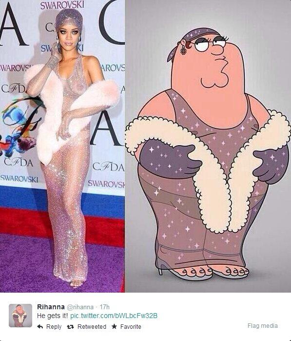 Rihanna Peter