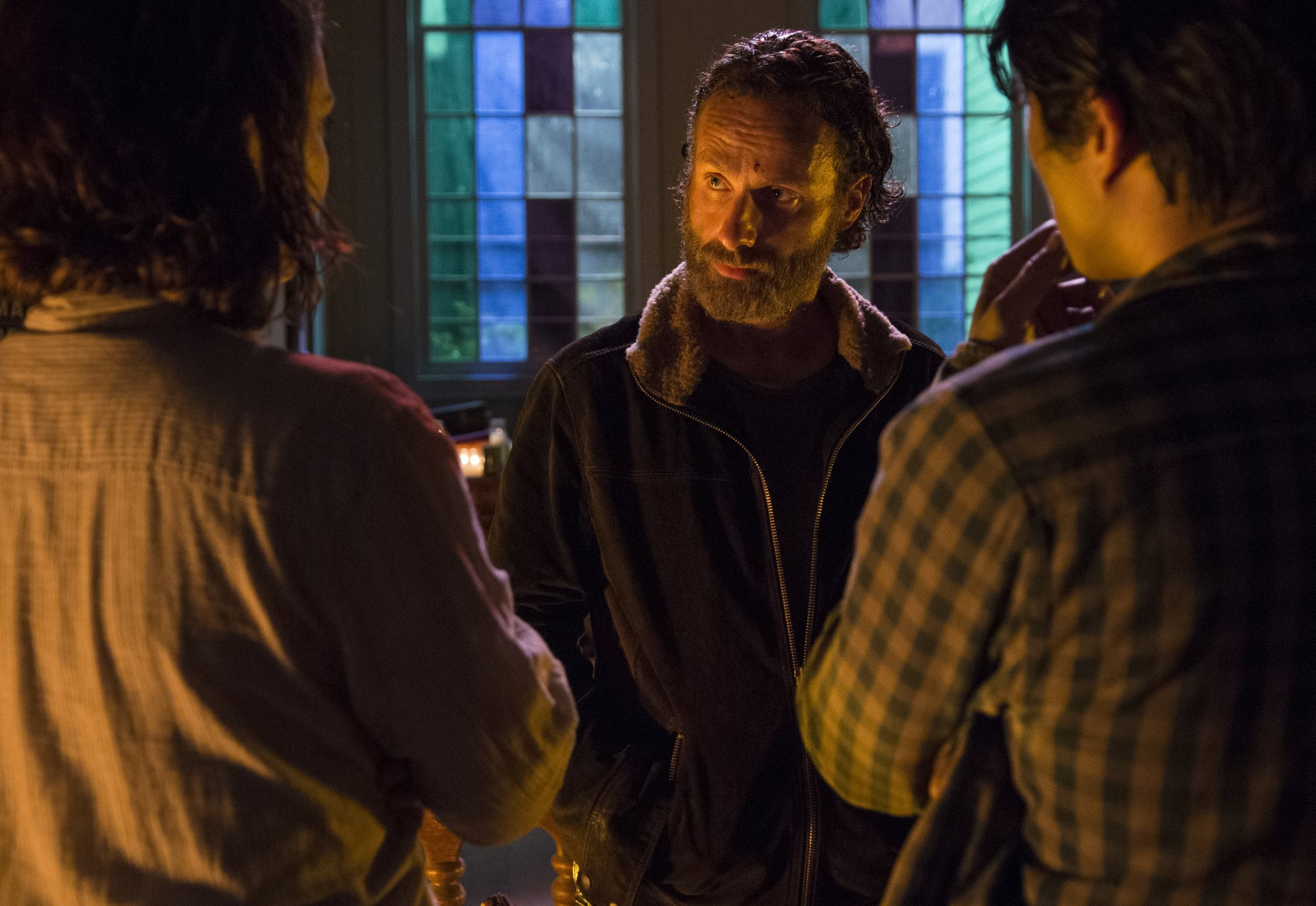 The Walking Dead - 05x03 - Four Walls and a Roof