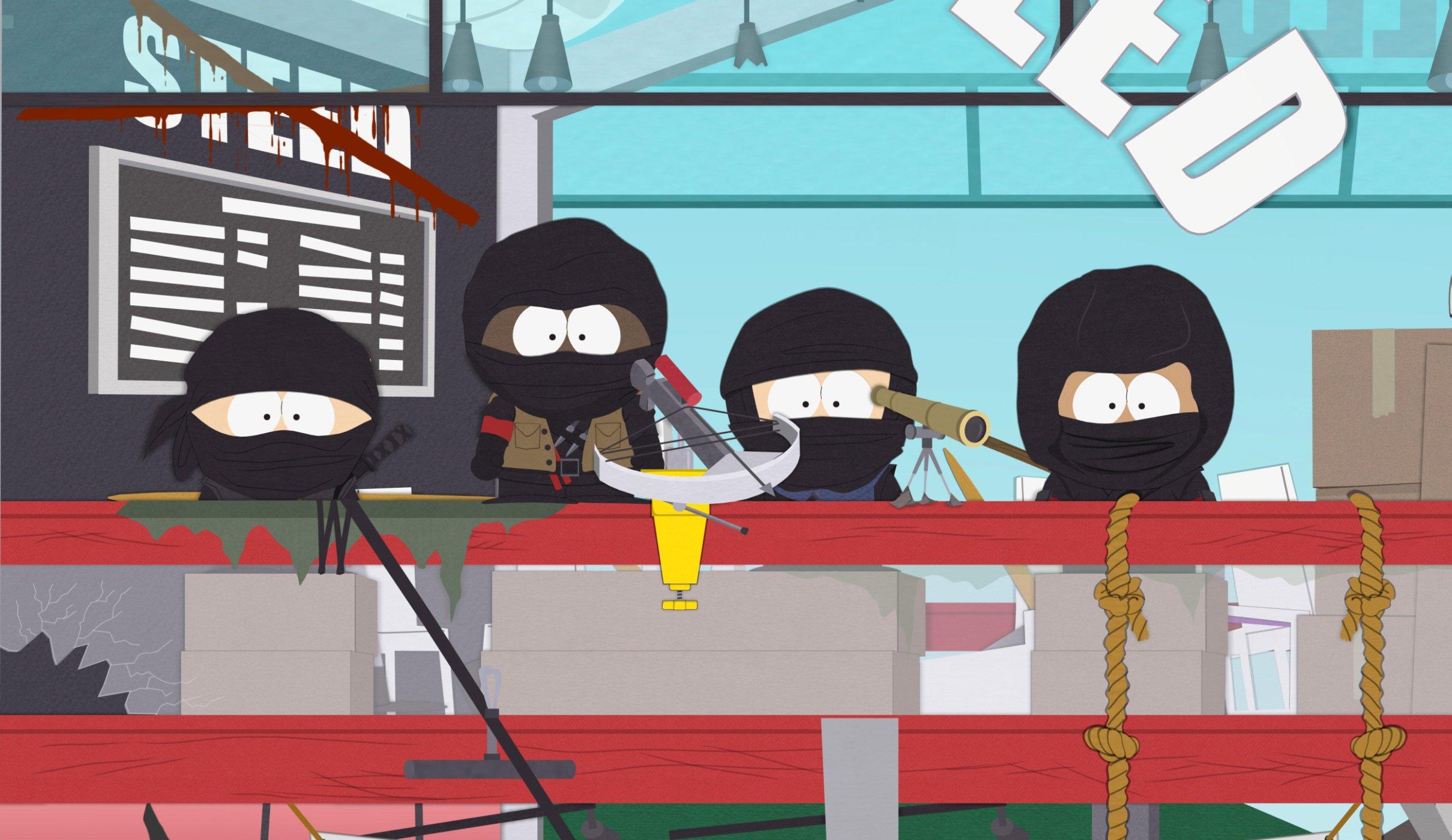 South Park - 19x07 - Naughty Ninjas
